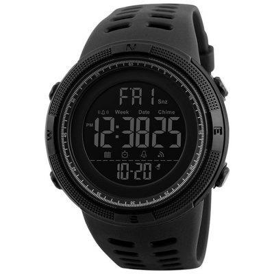 Mens Sports Duik 50m Digital LED Militaire Casual Elektronica Polshorloges