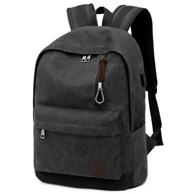 Fashion Canvas Water Resistance Laptop Backpack