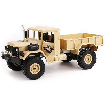 JJRC Q62 1/16 2.4G 4WD Off-Road caminhão militar rastreador RC carro