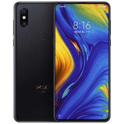 Gearbest Xiaomi Mi Mix 3 4G Phablet - BLACK 8GB RAM 128GB ROM 24.0MP + 2.0MP Rear Camera Fingerprint Sensor