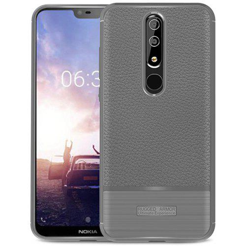 ASLING New Lychee Brushed Series Mobile Phone Case for NOKIA X6