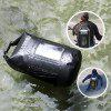 Gocomma 10L Waterproof Dry Bag for Skiing Kayaking - BLACK