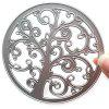 9-LY332 DIY Album Card Making Tool Knife Die Cutting Template Life Tree - SILVER