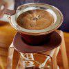 Coffee Filter Cup Stainless Steel Filter-free Filter Paper Tea Maker Hand Cup - SEPIA
