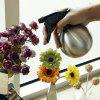Stainless Steel Watering Can Small Spherical Hair Spray Pot Green Plant Watering Flower Watering Can Drip Flower Pot Water Sprinkler - SILVER