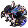 Yahboom Smart Robot Car Project Complete Starter Kit with Tutorial Learning Educational Electronic Toy - BLACK