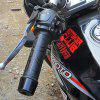 Motorcycle Refit Port Electric Hand Handle Adjustable Temperature Handlebar Cover - BLACK