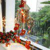 3m 20-LED Christmas Socks Style String Light for Decoration - LAVA RED