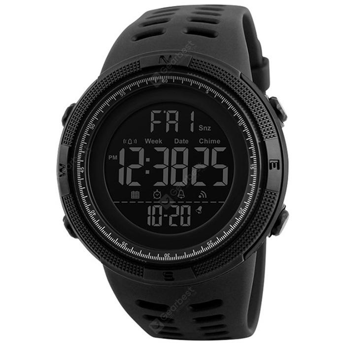 Mens Sports Dive 50m Digital LED Military Casual Electronics Wrist watches