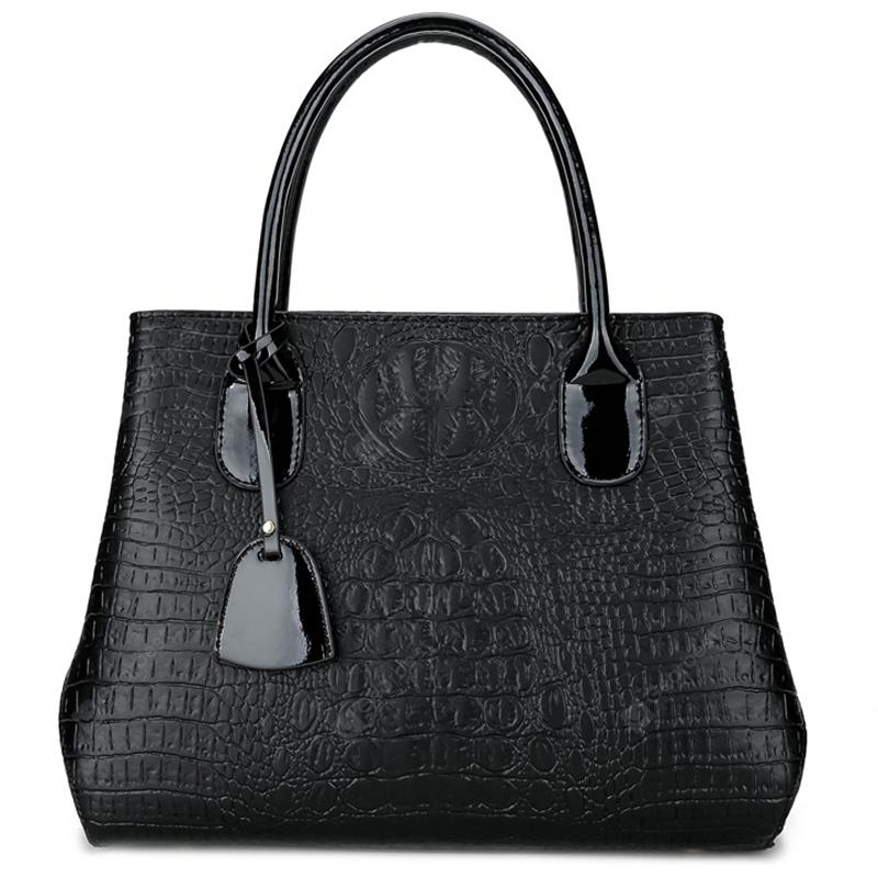Women's Bag Crocodile Lady Handbag
