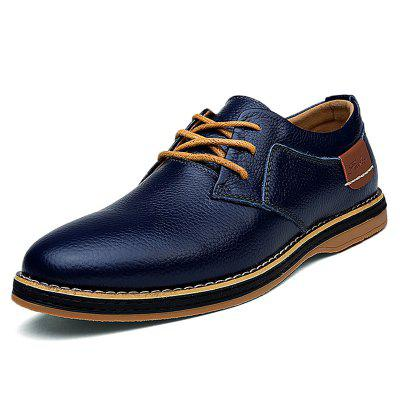 Men Lace-up Flat Shoes Comfortable Stylish Wearable