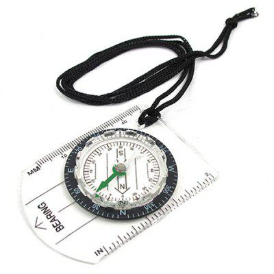 Wilderness Survival Outdoor Equipment Professional Multi-function Compass Compass Map Scale Scale Compass