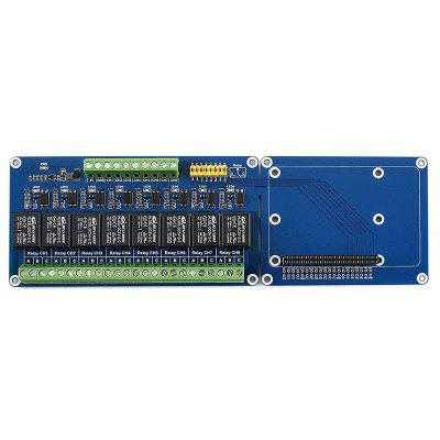 Waveshare Raspberry Pi Expansion Board 8-ch Relays for Raspberry Pi 3B+ / 3b