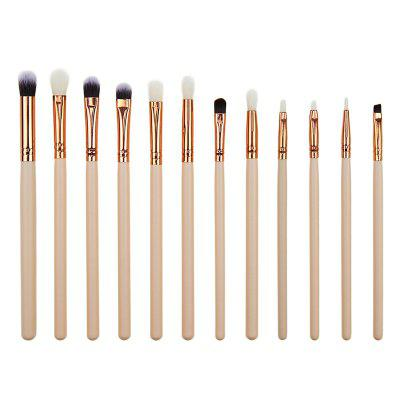 Makeup Brush Eye Shadow Eyeliner 12pcs