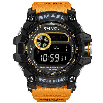SMAEL 8010 Men Single Display Waterproof Shockproof Electronic Watch