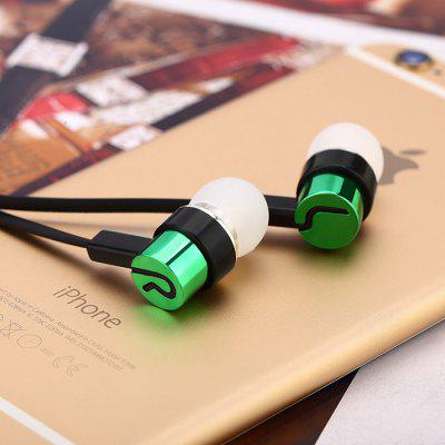 In-ear Earphones Noodle Line Bass for MP4 / MP3