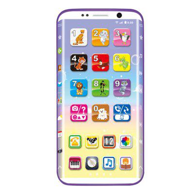 Curve Children Intelligent Mobile Phone Toy  Early Childhood Education Machine