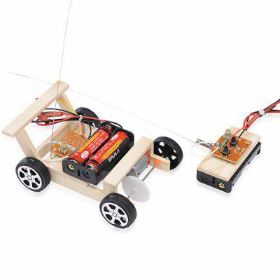 Wireless Remote Control DIY Car Model Technology Toy