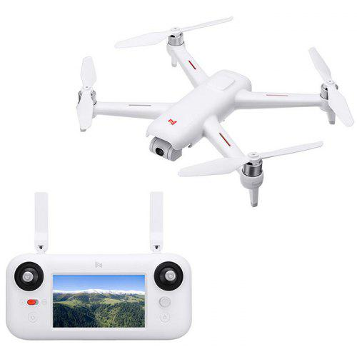 Gearbest FIMI A3 5.8G 1KM FPV with 2-axis Gimbal RC Drone from Xiaomi Youpin - WHITE 1080P Camera GPS Quadcopter RTF - 5.8G FPV