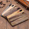 Classic Wooden Pattern Protective Phone Case for iPhone X / XS - YELLOW