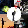 COB Work Inspection Light 360-stopniowy wielofunkcyjny USB Charging Light Flashlight Camping Light - CZARNY