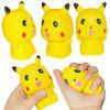 Slow Rebound Squishy Doll Mobile Phone Backpack Pendant Decompression Toy - YELLOW