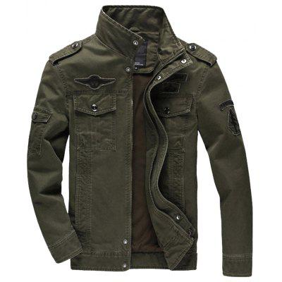 Men Casual Large Size Outdoor Sports Jacket