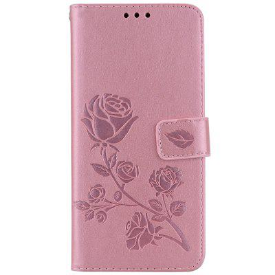 Hat - Prince PU Leather TPU Multifunction Phone Case for Xiaomi Redmi Note 5 Pro