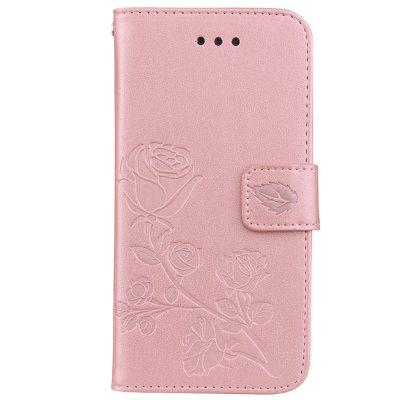 Hut - Prince Embossed PU Leather Mobile Case für iPhone 7 / iPhone 8