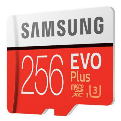 Gearbest $50.99 para Original Samsung UHS - 3 256GB Micro SDXC Memory Card - CHESTNUT RED 256GB promotion