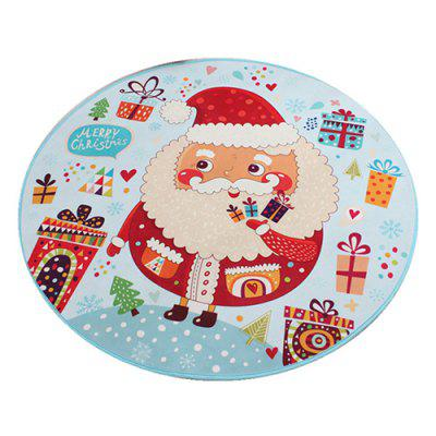 Santa Claus Pad Printing Cartoon Waterproof Children Cushion
