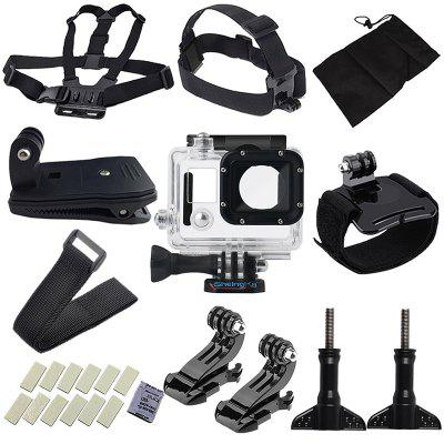Sports Camera Accessories Waterproof Case for Gopro Hero 3 Hero 4