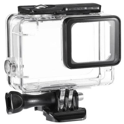 Waterproof Case + Waterproof Case Filter + Lens Cover + Tempered Protection Screen for Gopro 5
