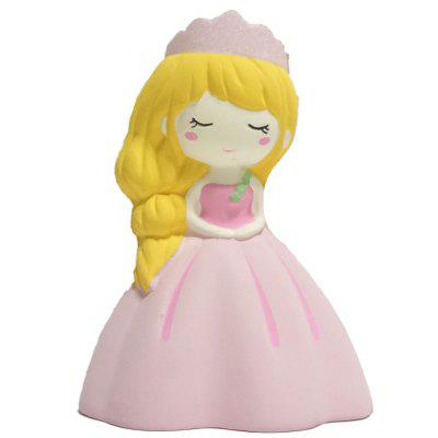 Squishy Princess Slow Rebound Toy Adornos lindos Descompresión Vent Toys