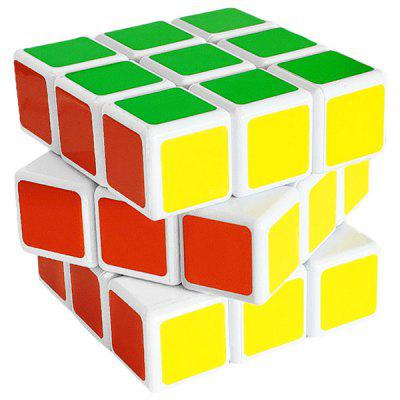 Game Dedicated Puzzle Smooth Third-order Transparent Round Boxed  Magic Cube Decompression Toy