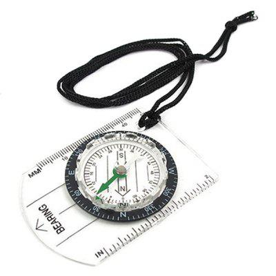 Wilderness Survival Outdoor Equipment Professional Multi-function Map Scale Compass