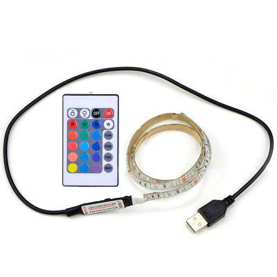 2835SMD DC5V 50cm Waterproof USB LED Desktop Screen TV Background Light
