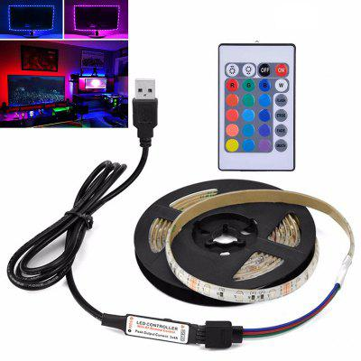 2835SMD DC5V 3M Waterproof USB LED with HDTV Desktop Screen TV Background Ambient Light