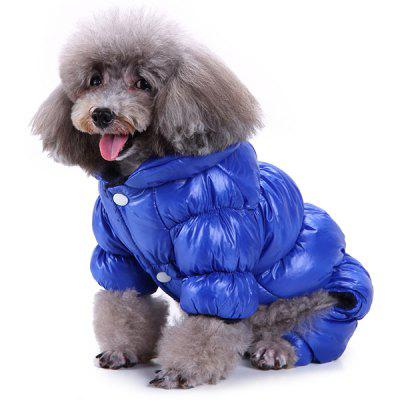 Pet Dog Clothing Winter Clothes for Four-feet Animal