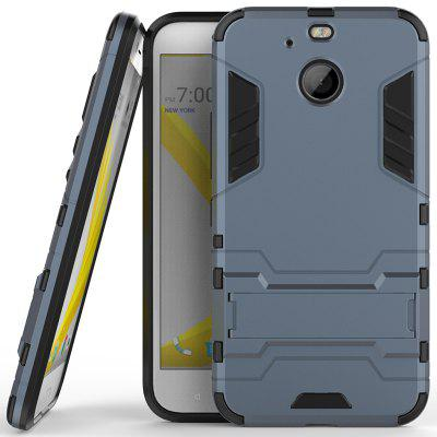 Armor All-inclusive with Bracket Three-in-one Matte Drop-proof Protective Shell Mobile Phone Shell for HTC - Bo