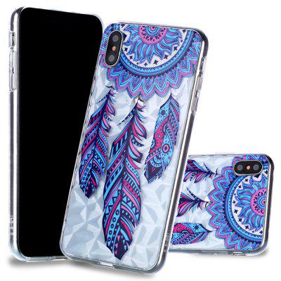 Diamond Varnish Embossed Mobile Phone Case na iPhone XS / Max
