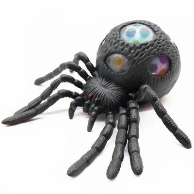 Czarny Spider Vent Toy Pinch Adult Ball Decompression Ball Ball
