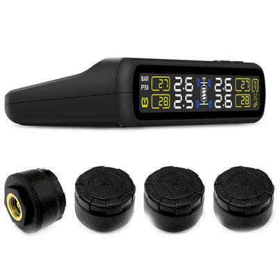 CAREUD T881B Color Screen Wireless Car Tire Pressure Monitoring System Sensor Set
