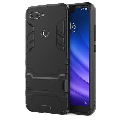 Armor All-inclusive with Bracket Three-in-one Drop-proofMobile Phone Shell for Xiaomi Mi 8 Lite
