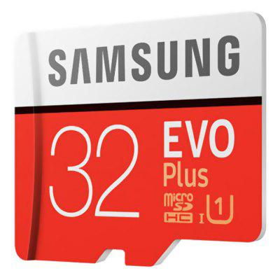 Samsung UHS - 1 32GB Micro SDHC Memory Card - 32GB Chestnut Red