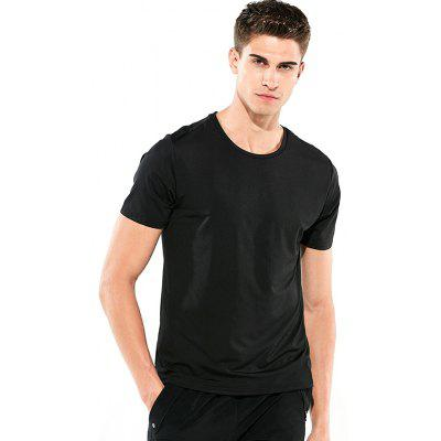 Men Short-sleeved Creative Hydrophobic T-shirt Waterproof Anti-fouling Quick-drying