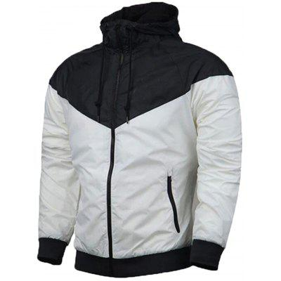 Men Slim Large Size Sports Casual Jacket