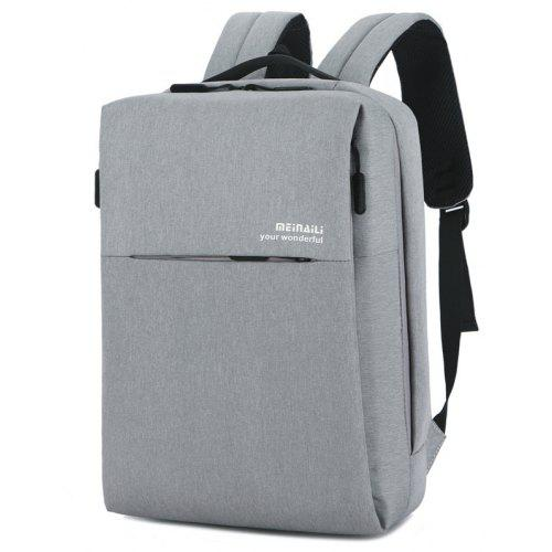 Meinaili Men Business Backpack Multifunctional Lap-top Bag -  26.41 ... 4325e0657cde2