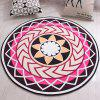 Round Cartoon Handmade Rug Entry Door Mat - MULTI-A