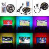 2835SMD DC5V 5M Waterproof USB LED with HDTV Desktop Screen TV Background Light - MULTI-W